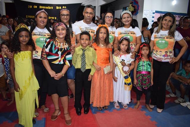 Itainópolis | Escola promove projeto sobre a Consciência Negra