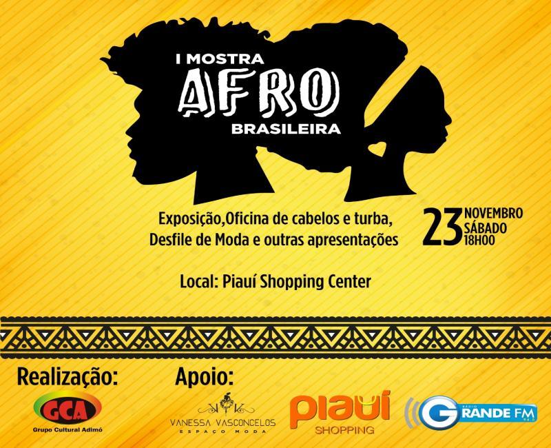 Semana da consciência negra é marcada pela I Mostra Afro Brasileira