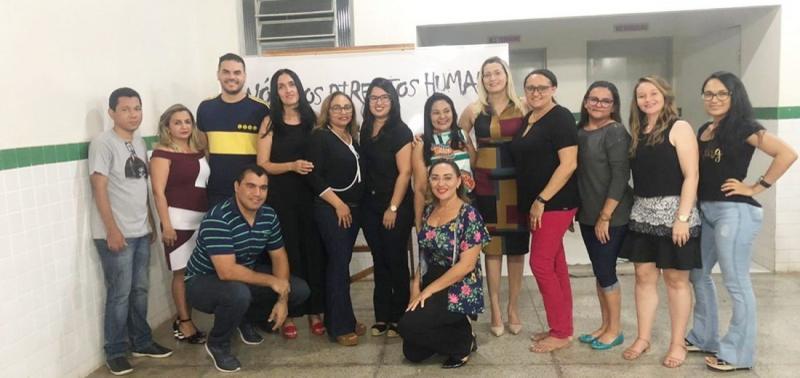 Jaicós | Escola promove mesa redonda sobre Direitos Humanos