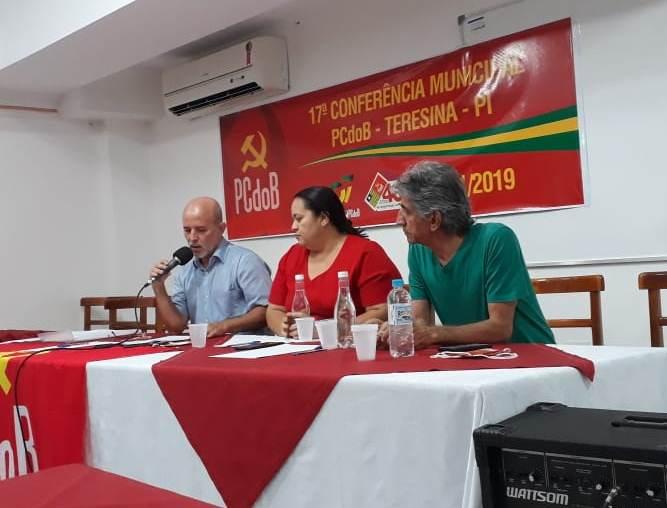Durante encontro, PCdoB elege nova diretoria em Teresina