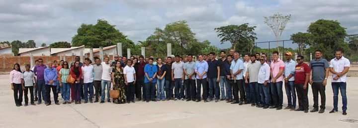 Deputado Rafael Leitoa e prefeito Luciano visitam obras do Parque Ambiental