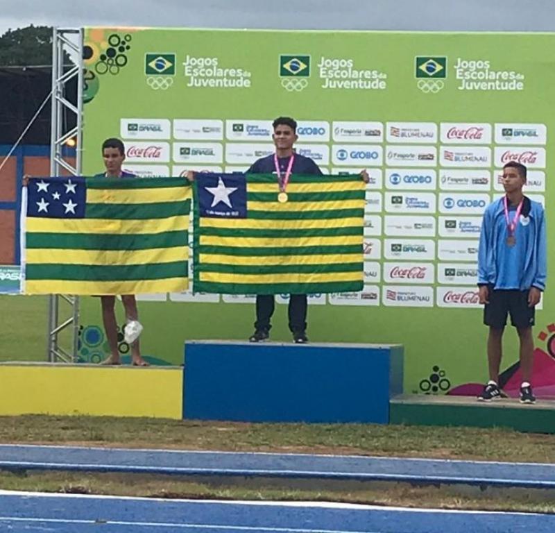 Victor Raphael é Campeão Brasileiro nos Jogos Escolares