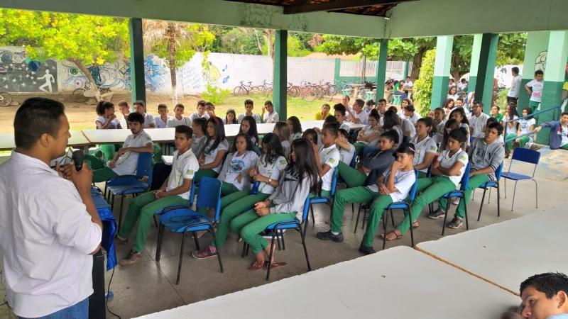 Altos |NUCA e Prefeitura realizam palestra sobre saúde sexual e reprodutiva