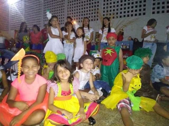 Itainópolis | Escola promove projeto sobre alimentação saudável
