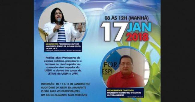 Amarante: Uespi vai realizar palestra sobre Literatura, Memória e História