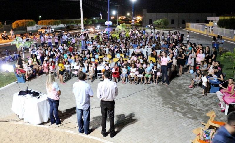 Belém do PI | Semana do Bebê é aberta com caminhada, recreação e cinema