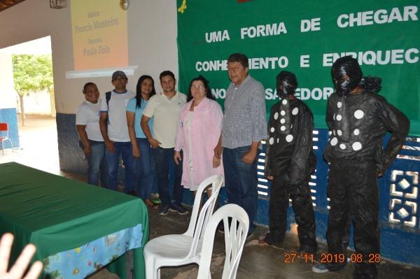Equipe do PSF promove palestra sobre a dengue na Escola Idália de Brito
