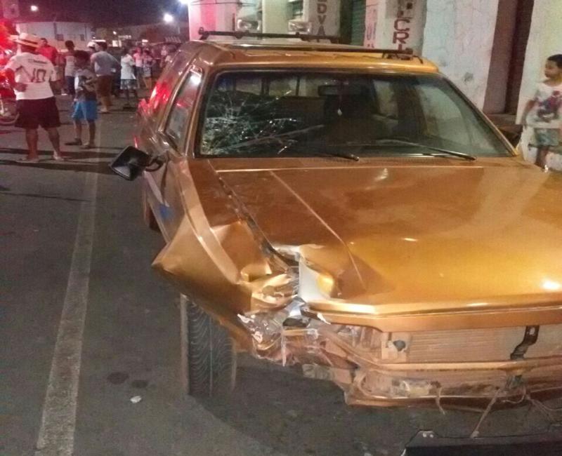 Colisão frontal deixa jovem gravemente ferido no Piauí