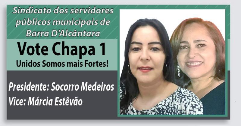 Socorro Medeiros é Reeleita Presidente Sindicato dos Servidores Municipais