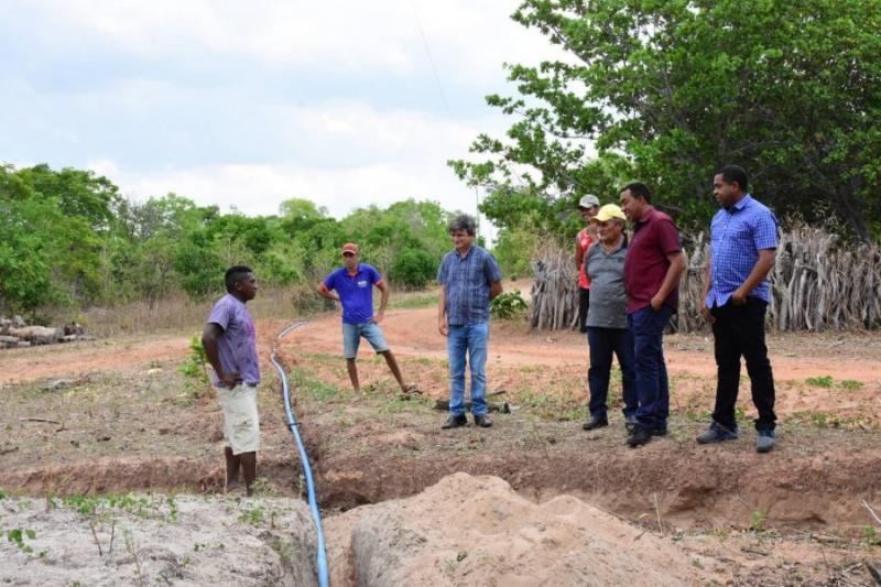 Barra da Vereda recebe melhoria em sistema de distribuição de água