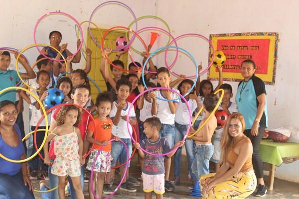 Encerramento do Programa Crescer Saudável 2019 na Comunidade Lagoa Cercada