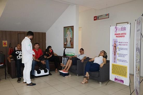 Colaboradores da OAB Piauí são contemplados com os serviços da FisioEda