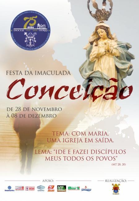 Oeiras | Confira a programação da Festa da Imaculada Conceição