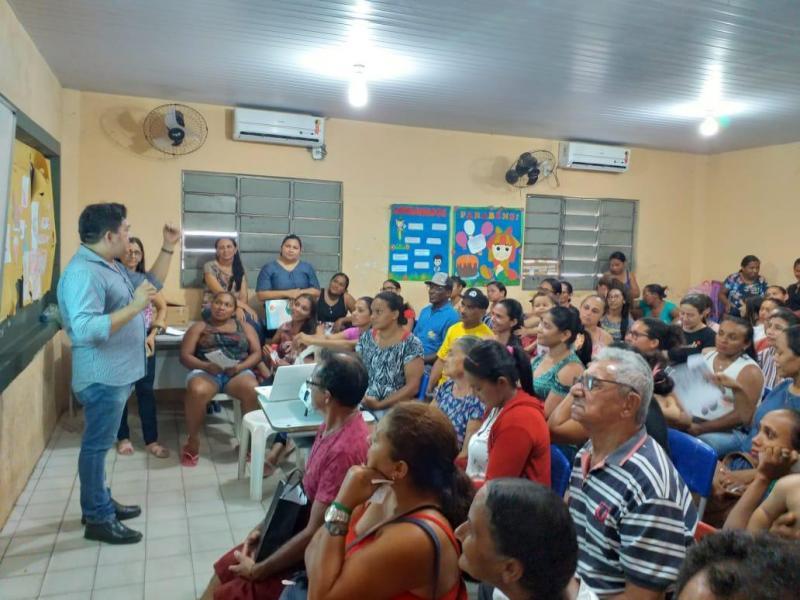 Secretaria de educação de Pau D'arco do PI realiza