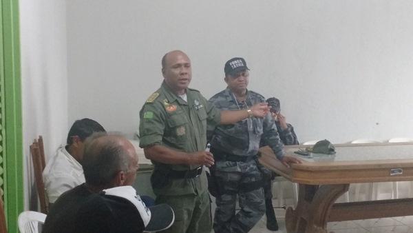 Colônia do Gurguéia-PI: Mudança no comando da 2ª Companhia do 19º BPM