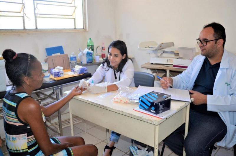 Secretaria de Saúde e Assistência Social promovem ações na semana de aniver