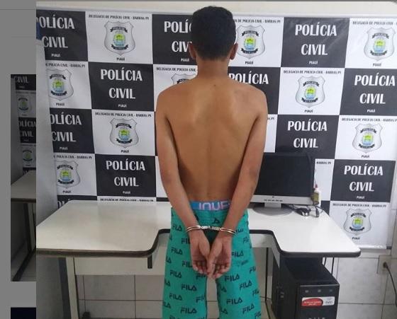 Polícia Civil prende acusado de realizar assaltos em Boa Hora e Barras