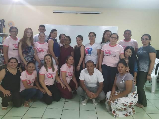São Luís do Piauí promove capacitação sobre saúde da mulher