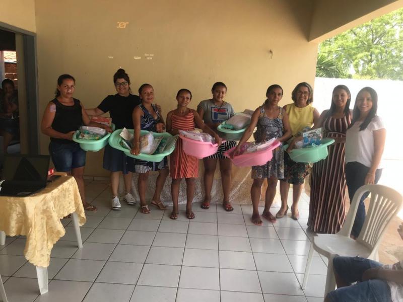 Francinópolis | Prefeitura entrega kits de enxoval para gestantes