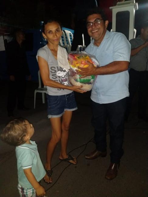 CEMADEPI/BENEDITINOS realiza cruzada no Bairro Santo Antonio