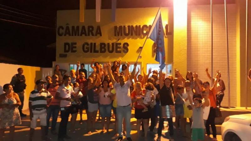 Arnon Gama anuncia obras de Construção da sede do SINSERPIM-GBS em Gilbués