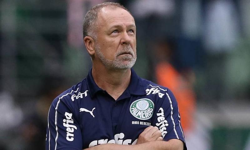 Mano é demitido do Palmeiras após derrota para o Flamengo