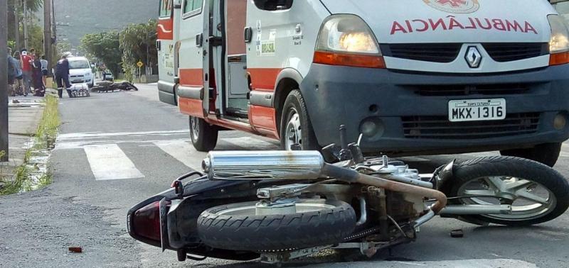 Colisão entre motos deixa mulher morta na BR 316