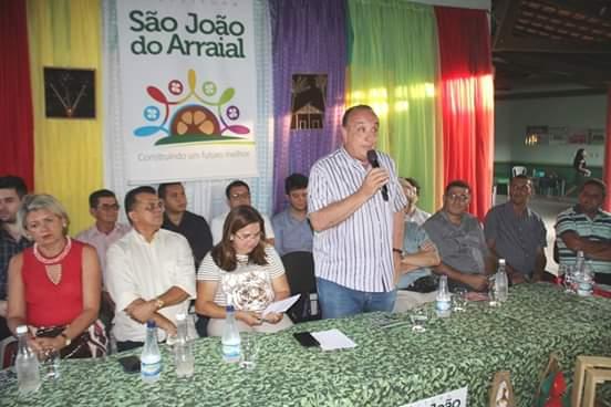 Empresários e representantes do Mercosul visitaram São João do Arraial