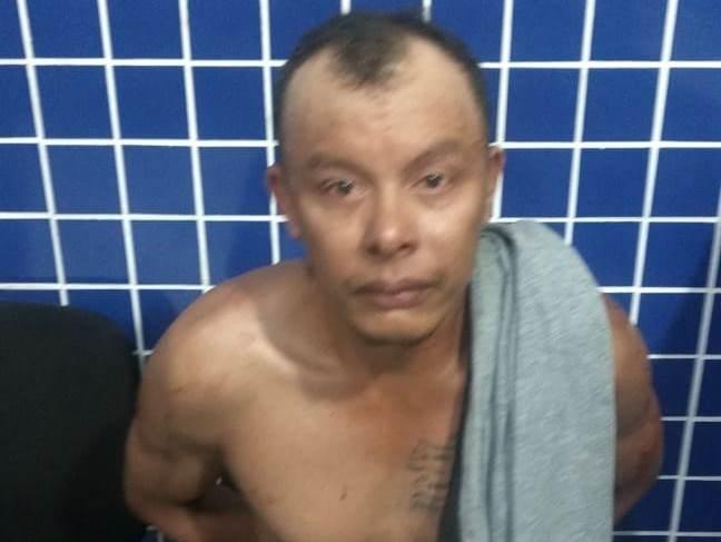 Homem é preso acusado de espancar mulher em Parnaíba