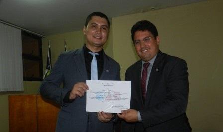 Advogado é empossado pela OAB/PI na cidade de Joaquim Pires