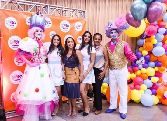 Vídeo: '1 2 3 e Já Kids' inaugura em alto estilo no Cocais Shopping