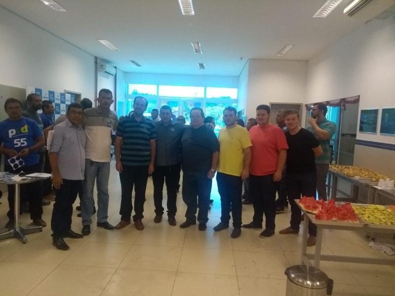 Primeiro encontro democrático do PSD em José de Freitas.