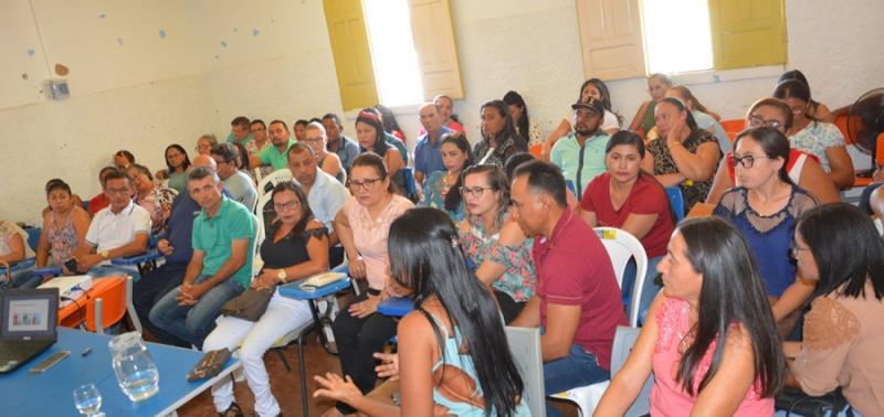 PATOS | Educação inicia formação continuada de  implantação da BNCC