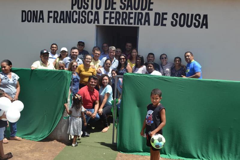 Monsenhor Gil | Gestão entrega Posto de Saúde na comunidade Gameleira