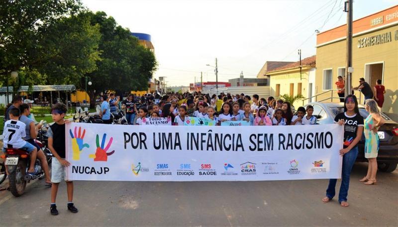NUCA de Joaquim Pires promove caminhada contra o Racismo