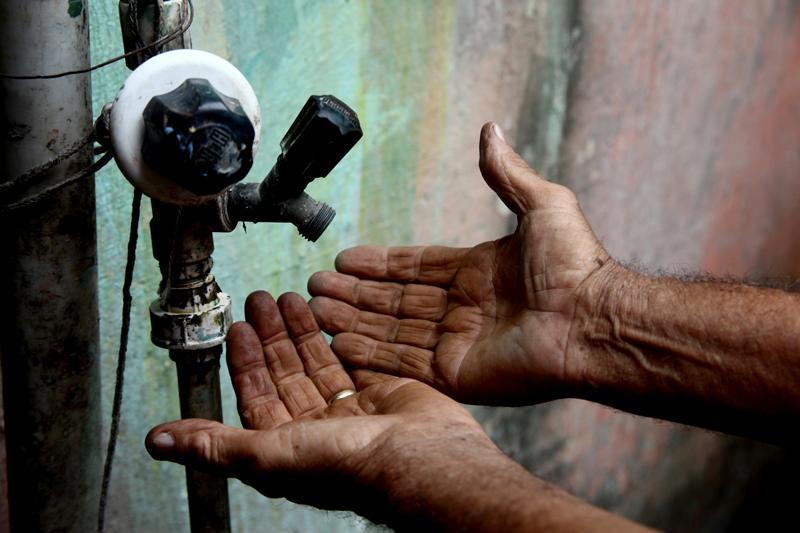 Moradores do Município de Gilbués reclamam da constante falta de água