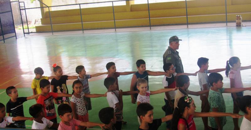 Prefeitura de São João do Arraial inicia as atividades do Pelotão Mirim
