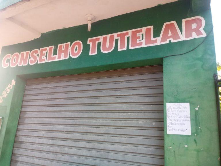 Sede do Conselho Tutelar de Cabeceiras do Piauí. (Foto: Reprodução).