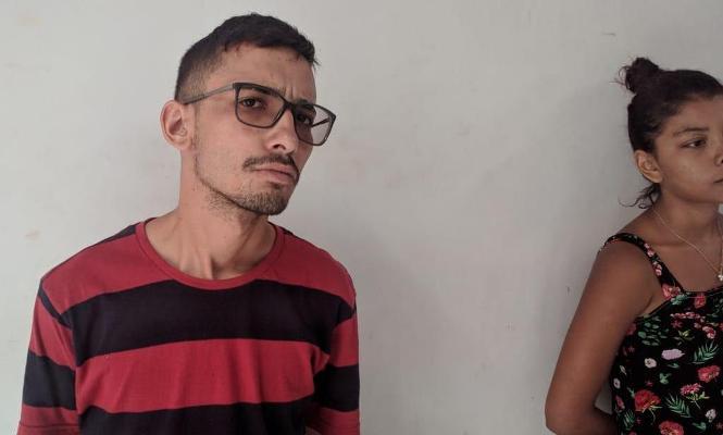 Casal é preso pela Rocam/Timon com 115 pedras de crack e moto roubada