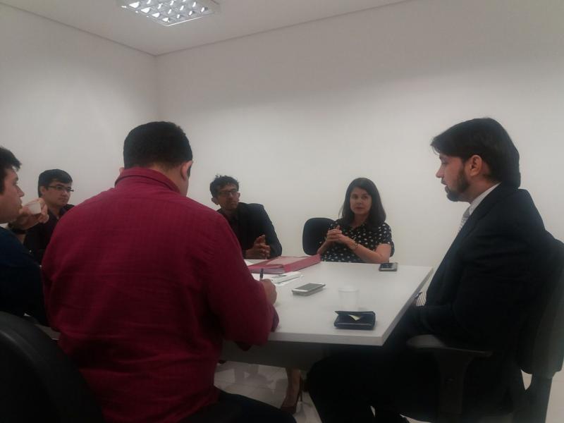 Em Teresina, membros do MP se reúnem com responsáveis pelo hospital estadual de Amarante