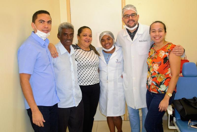 Prefeitura de Joaquim Pires entrega a primeira etapa de próteses dentarias