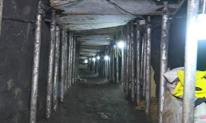 Polícia descobre túnel que levaria ao maior assalto a banco da história