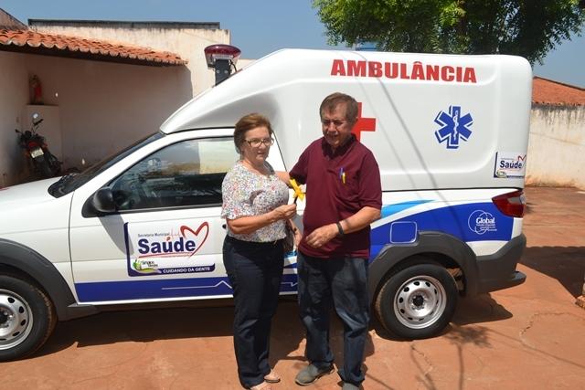 Secretaria de saúde de Simplício Mendes adquire mais uma ambulância tipo A