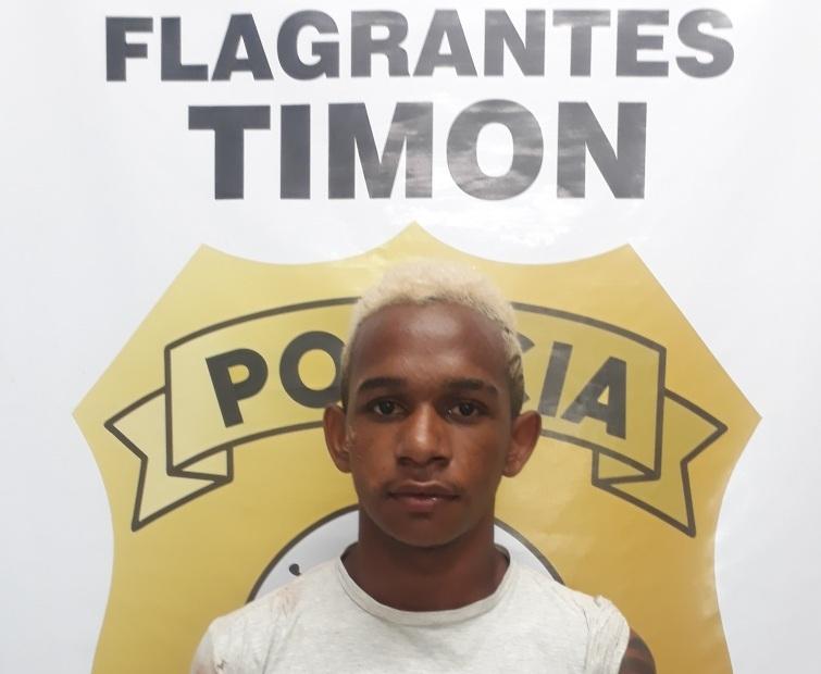 Polícia Civil/Timon prende indivíduo com moto roubada