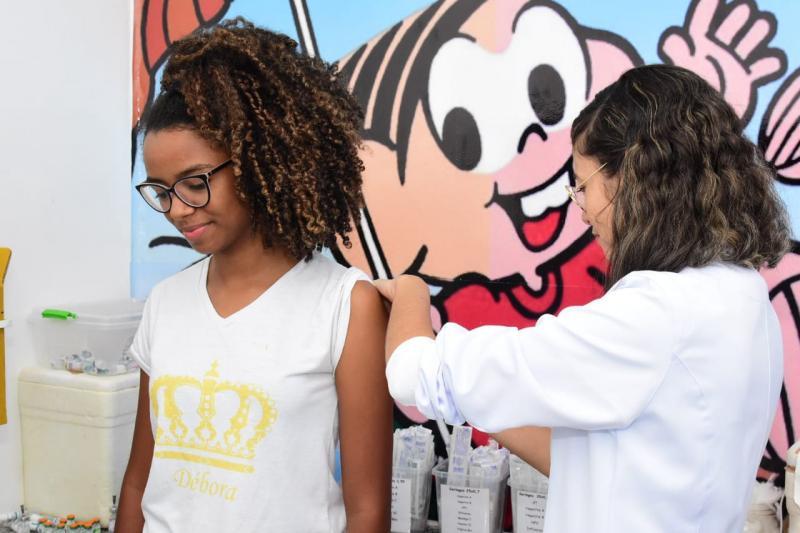 Floriano finaliza segunda etapa de vacinação contra o Sarampo
