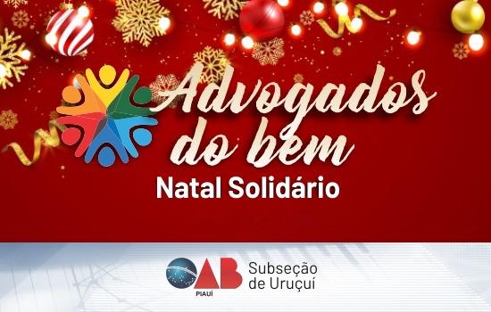 Subseção Uruçuí realiza campanha de arrecadação de alimentos para o Natal