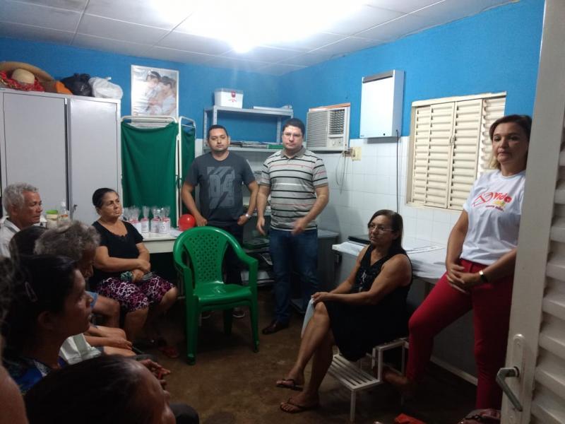 Grupo de Tabagismo do bairro Codó realiza Confraternização.