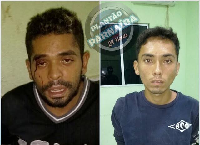 Após perseguição, polícia prende homens com atitudes suspeitas