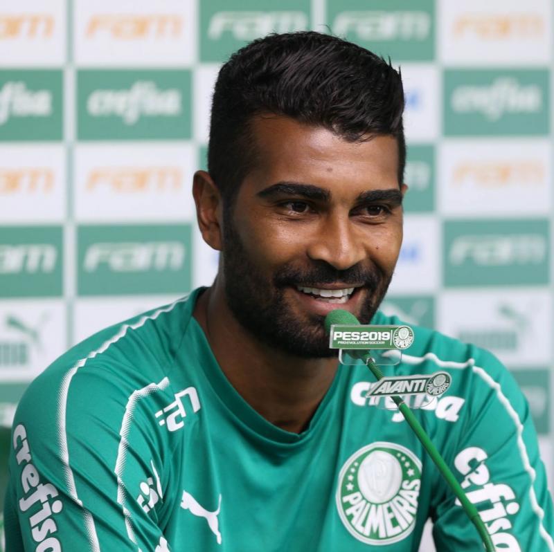 Thiago Santos- Foto: Divulgação/Palmeiras