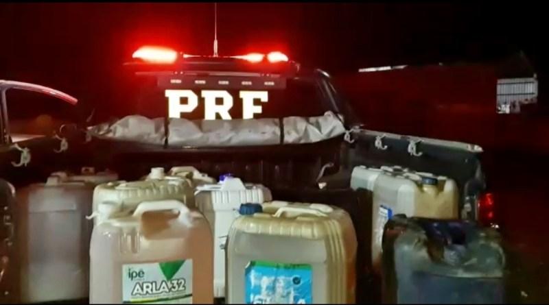 Mãe é presa e filhos apreendidos por furto de combustível em Teresina